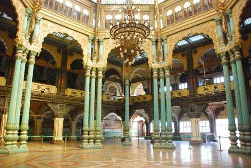 Marriage Pavillion at Mysore Palace