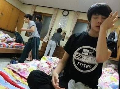 When he was a trainee fbfjd Sehunaaah