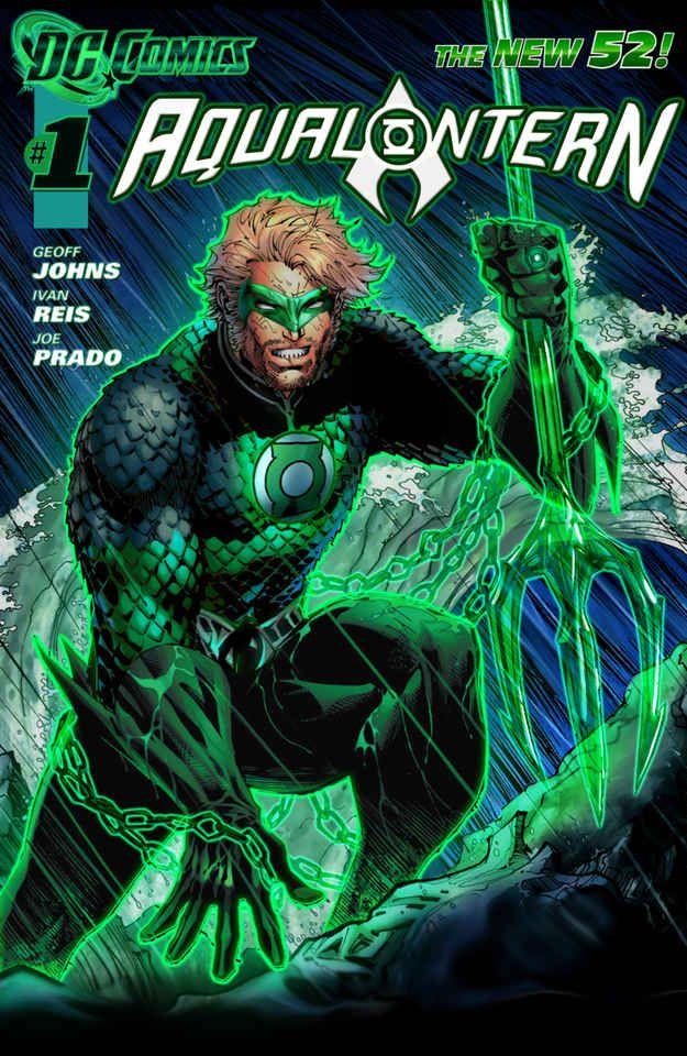Aqualantern   23 Heroes Who Would Make Incredible Green Lanterns