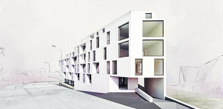Case Study AB / Housing / Location: Sibiu / Year: 2013 / Status: ...concept / Team: Mihai Sima, Raluca Sabău, Irina Bota / 3d Visualization: Emese Luha