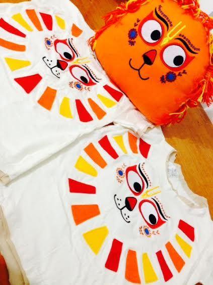 Nrsimha and Nrsimha T-shirt