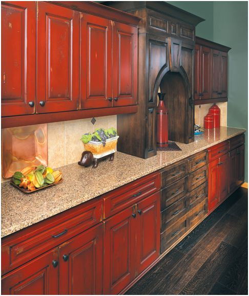 rustic painted kitchen cabinets google search  farmhouse