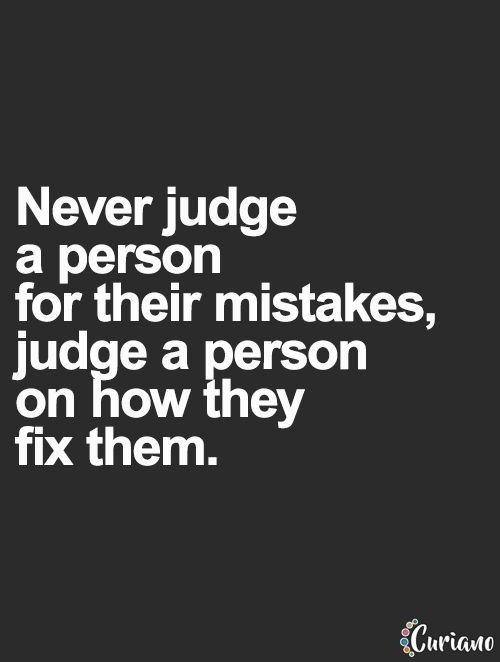 Exactly don't like it when people do this everybody makes mistakes but the important part is to get back up and do things right again