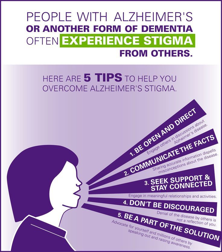 People with Alzheimer's often experience stigma. Here are 5 tips to help you overcome Alzheimer's stigma.