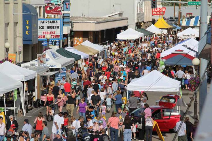 The sun is not sleeping and neither are we! Join us for downtown fun at the Midnight Sun Festival on one of the longest days of the year - Fairbanks