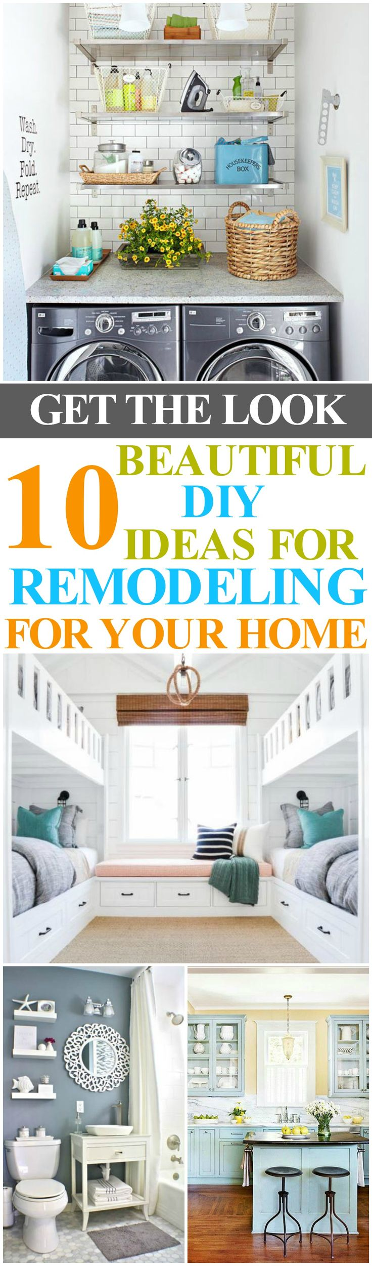 Remodeling Ideas for your home. #remodeling #remodelideas #decor #décorideas