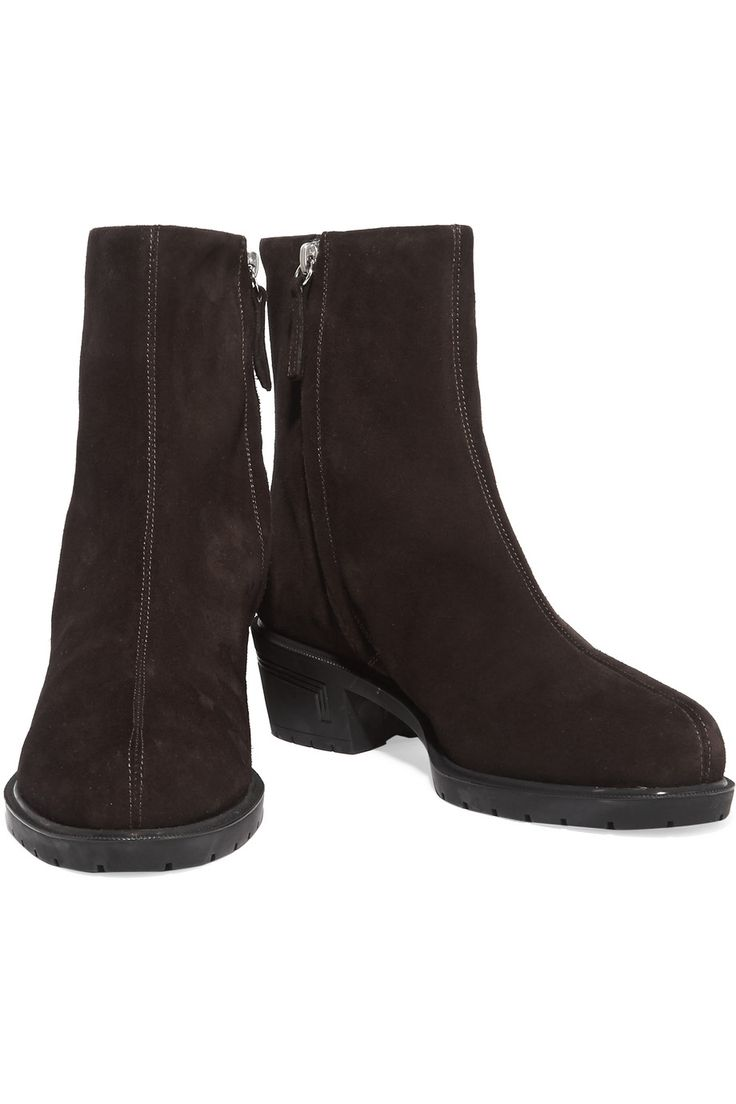 Shop on-sale Giuseppe Zanotti Suede boots. Browse other discount designer Boots & more on The Most Fashionable Fashion Outlet, THE OUTNET.COM