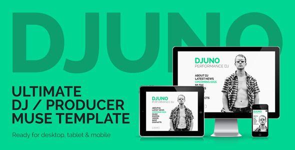 DJuno - Ultimate DJ / Producer Muse Template