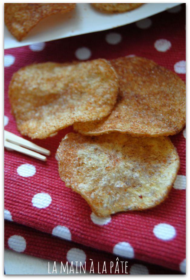 Chips maison saveur barbecue - La main à la pâte