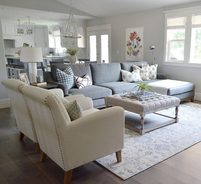 Family Room Sectional Furniture Layout