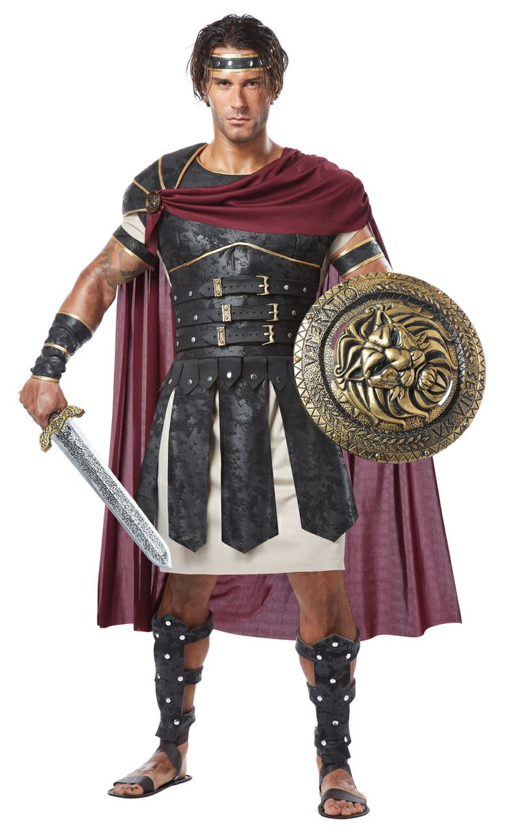 What's sexier than a Roman Gladiator? You in a Roman Gladiator Costume! Roman Gladiator Deluxe Male Costume, $89.99