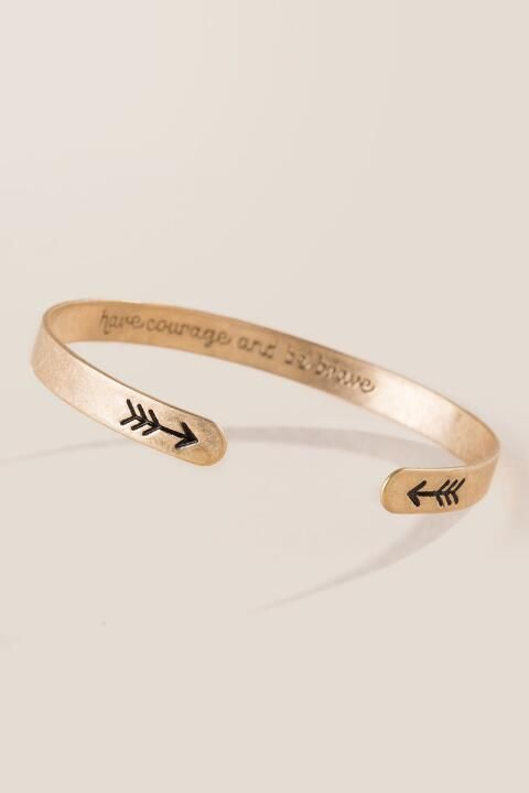 Have Courage and Be Brave Bracelet