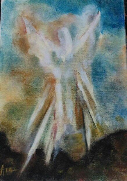 Angel pastel