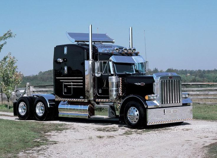 Big Black Peterbilt ★。☆。JpM ENTERTAINMENT ☆。★。