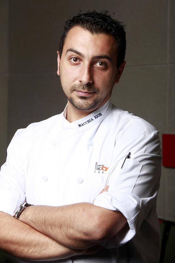 Una inedita ricetta dello chef Igor Macchia a La Credenza, il ristorante stella Michelin