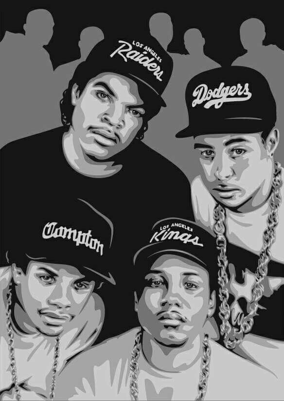 an analysis of the classic rap album straight outta compton by nwa This incident, along with other racially-driven incidents in their community, led to the recording of many nwa tracks, including fuck the police and straight outta compton the group gave the inner city a true voice, one that fought back against law enforcement.