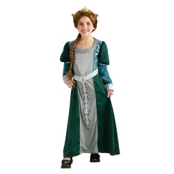 Gorgeous Princess Fiona Shrek Child Halloween Costume