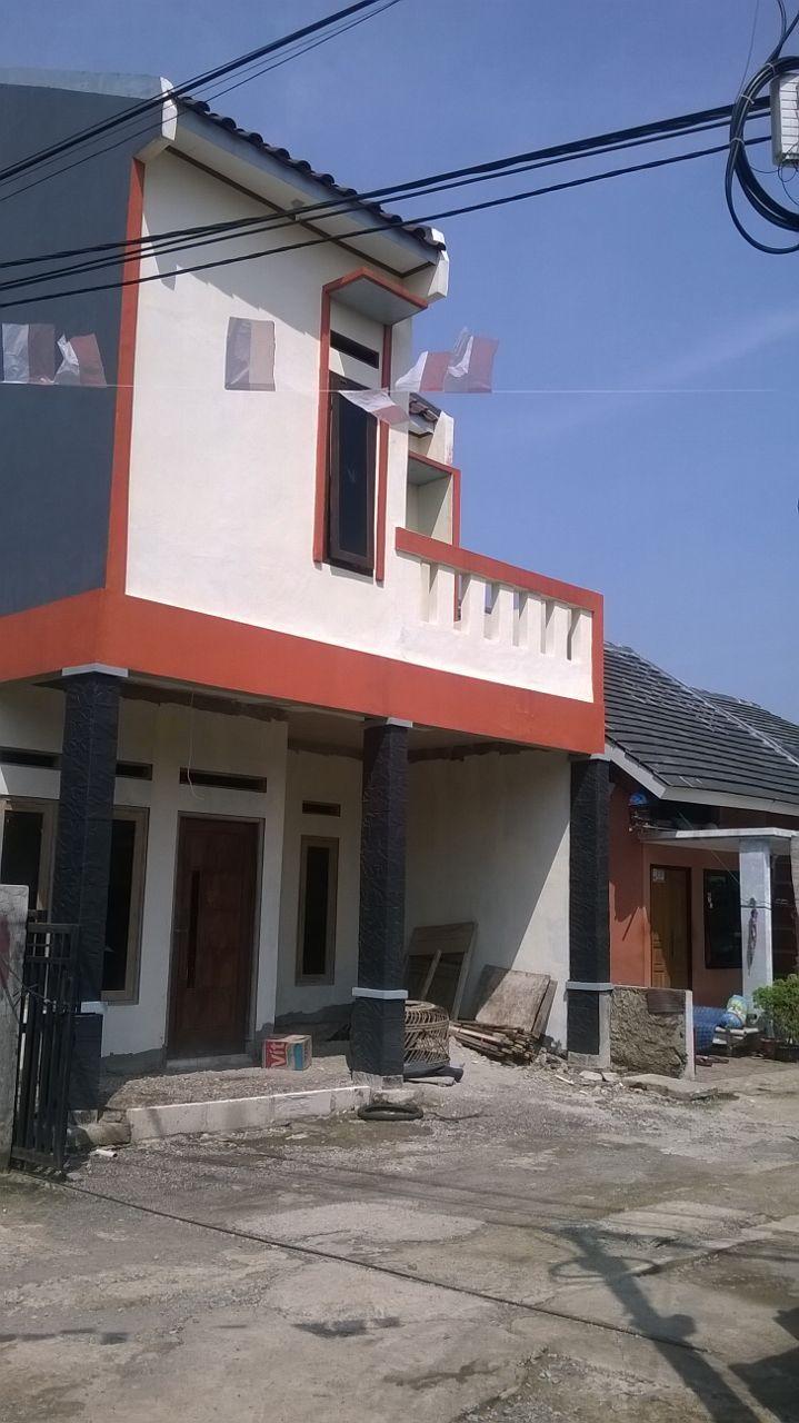 Jual rumah dua lantai murah, sisa 1 unit lagi dari 22 unit, posisi di gerbang…