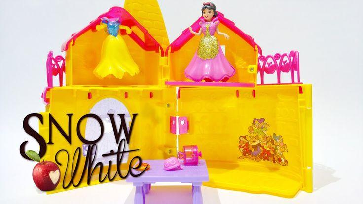 Snow White and the Seven Dwarfs MagiClip Walt Disney Disney Princess Toy...