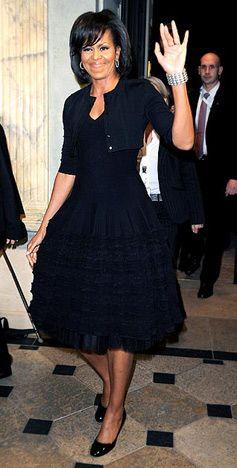 Michelle Obama's Style: Azzedine Alaia