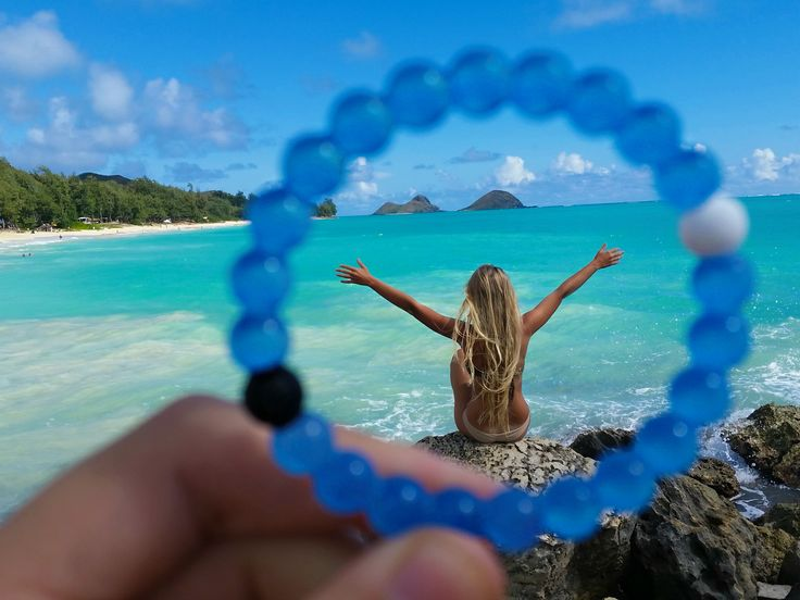 What do you see through your blue lokai?