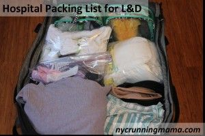 Hospital Packing List ~best list I've seen so far. Cuts out the extra stuff~mhr