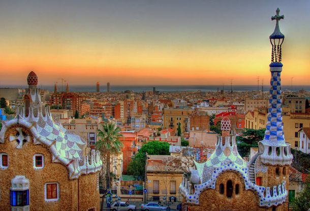 ARCHITECT GAUDI--SPAIN
