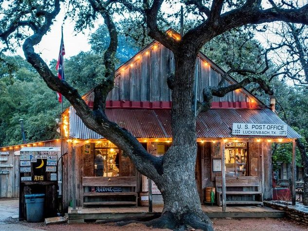 Luckenbach General Store in Texas Hill Country - just a short drive from Austin