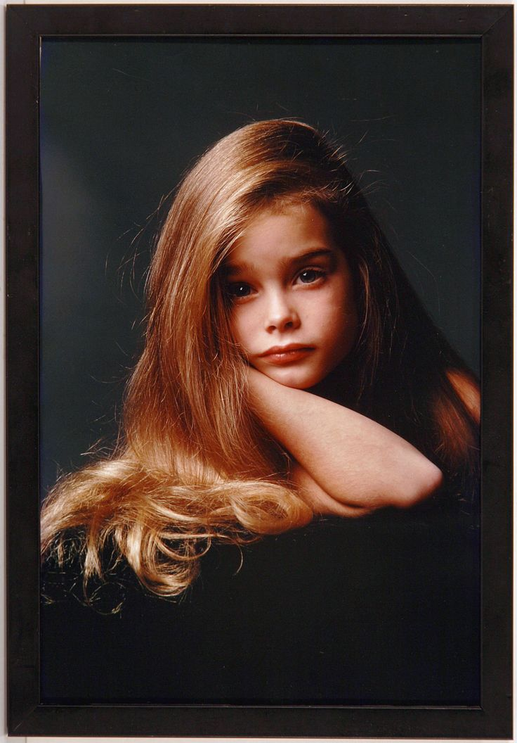 brooke shields early modeling