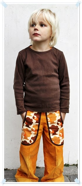 """Pocket Pants. Could be made with that good """"made"""" pattern for basic pants"""