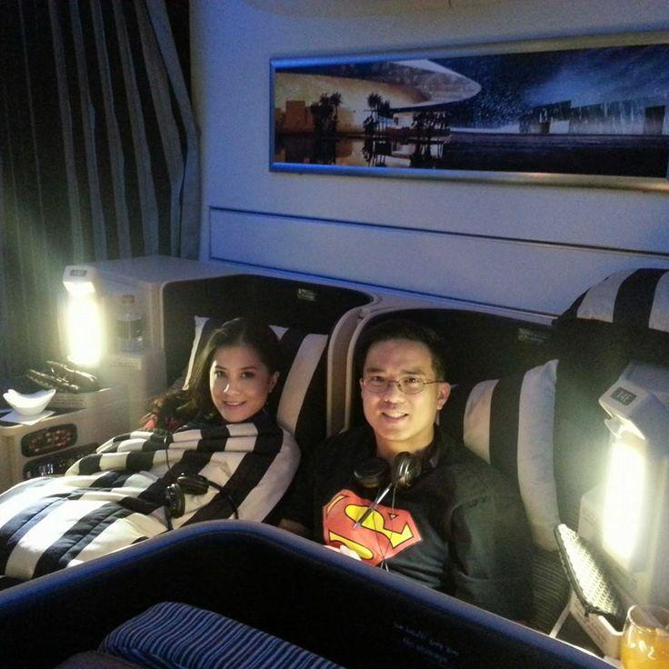Etihad Business Class experience: Abu Dhabi to London