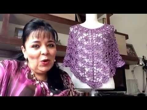 TEJE CAPITA LILA - Tejida en gancho fácil y rápido - Tejiendo con LAURA CEPEDA - YouTube