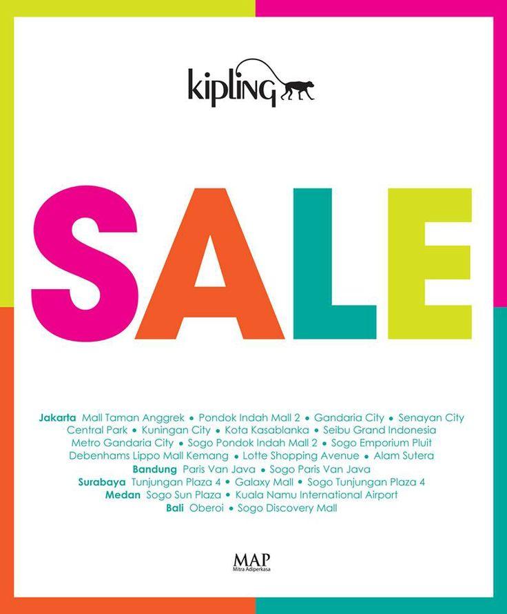 Kipling SALE! Happy shopping!