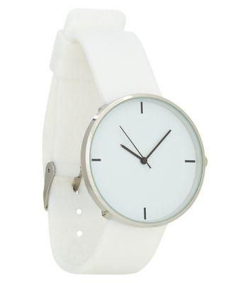 Exclusives New Look White Silicon Watch #accessories #covetme