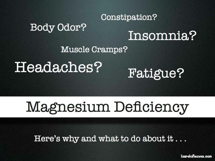 Magnesium is involved with over 300 metabolic processes in our bodies, leading to the mineral being called the 'master mineral'. So what exactly does it mean to have a magnesium deficiency, and what are some magnesium deficiency symptoms?
