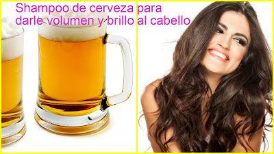 Shampoo casero de cerveza para darle brillo y volumen al cabello ~ cositasconmesh