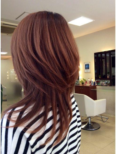 ディーリンク 中央店(hair cure DLINK)ロングちょいウルフレイヤー