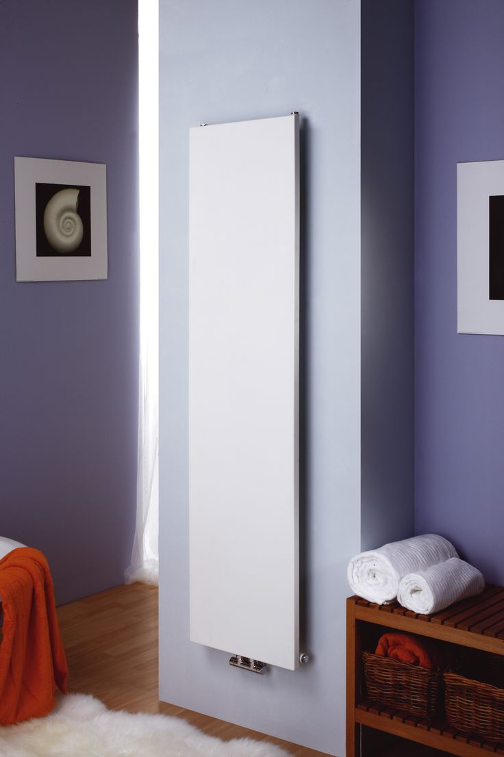 Vago - Flat panel radiator, slim vertical radiators. Pretty smooth eh?