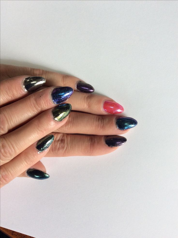 Nails done by Ann at Tangles Hair Studio and Day Spa in Red Deer Alberta. www.nailsbyanneducation.com