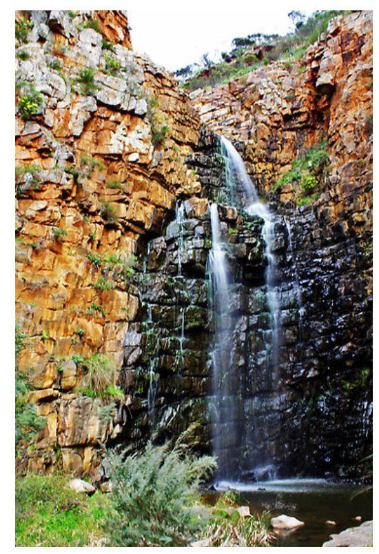 Morialta Falls, first fall, Adelaide Hills, South Australia