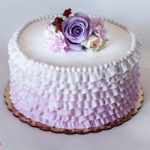 1-tier-buttercream-ruffle-cake