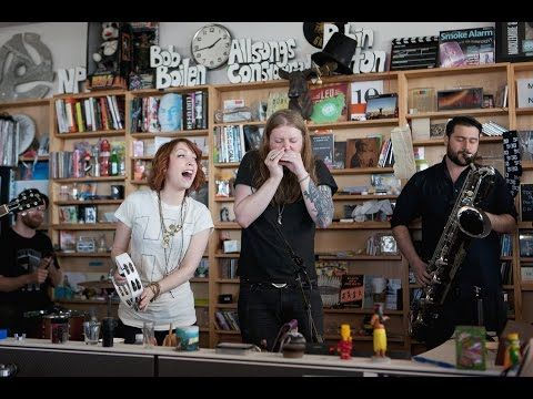 The Funky Groove of Sister Sparrow & The Dirty Birds on NPR's Tiny Desk – Soundwaves Review