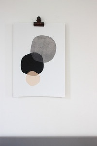 Image of Affiche A3 Circles