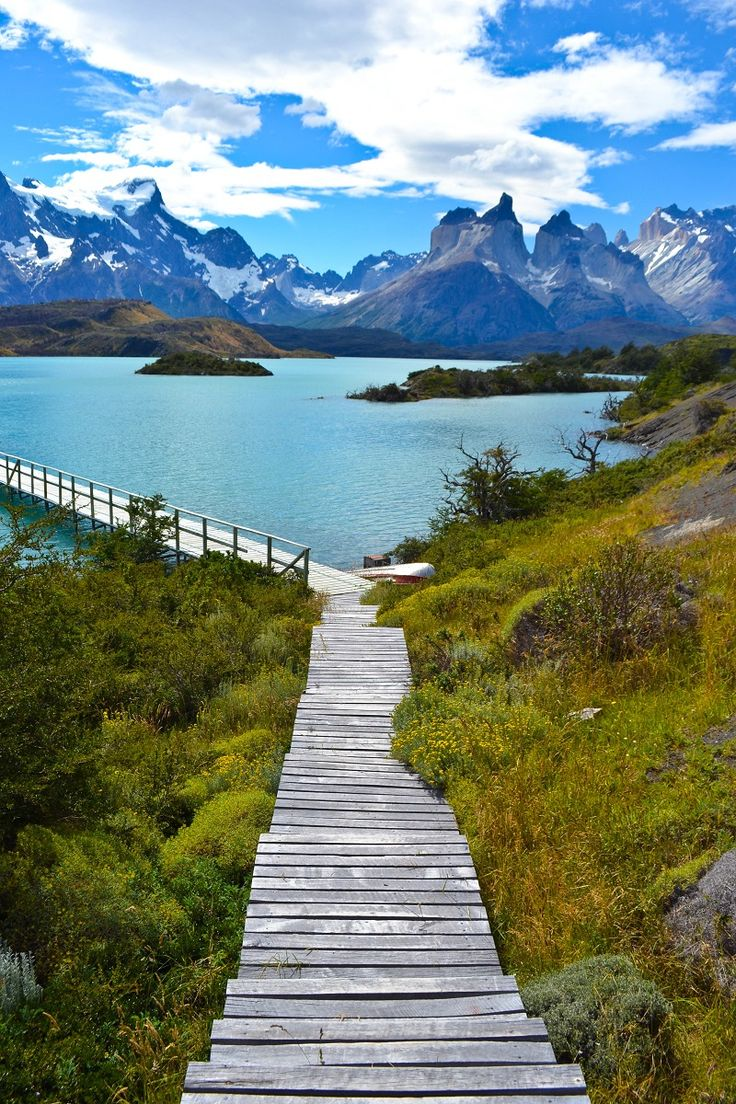 PATAGONIA, CHILE - Torres del Paine National Park.