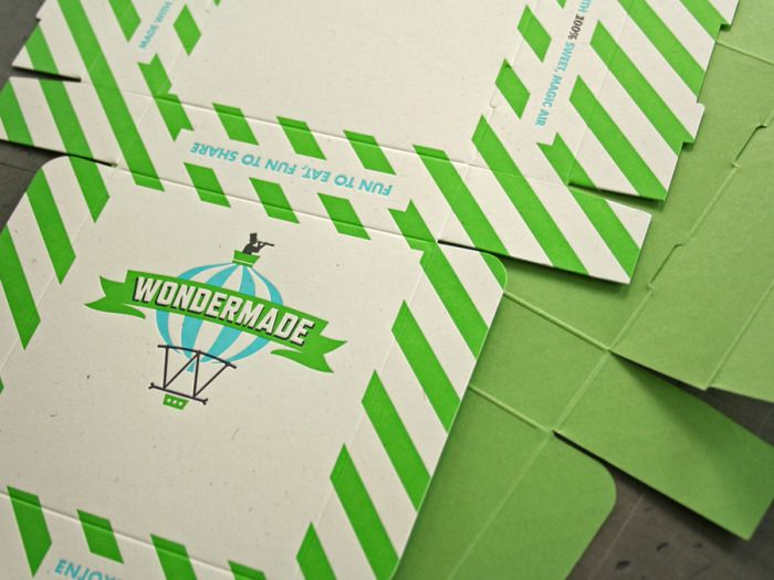 Wondermade via @TheDieline | Great colors & vintage design makes this #packaging really awesome!