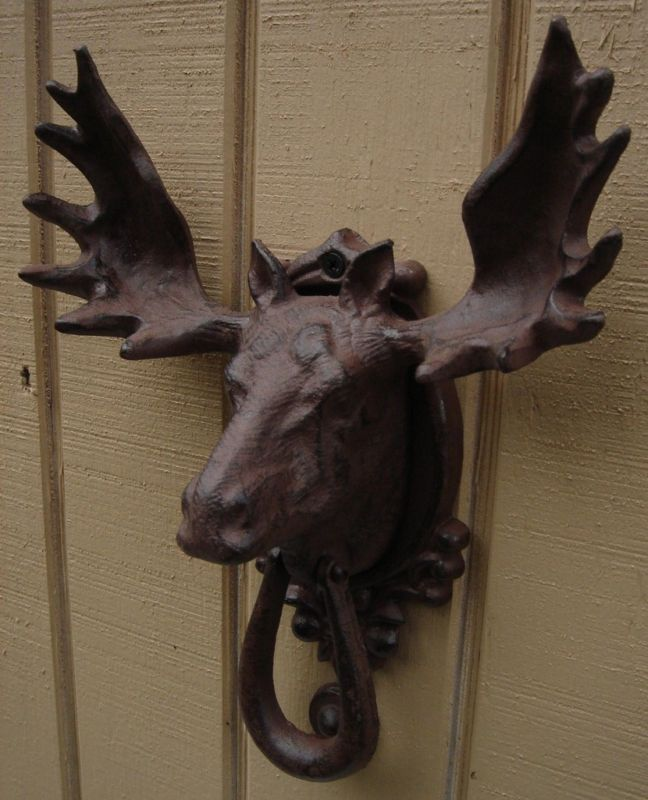 moose door knockers costmad do not sell this itemidea but have lots of