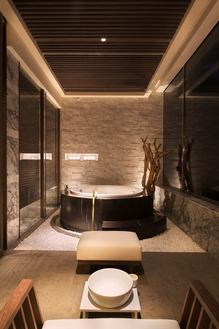 The grand hyatt hotel shenyang china spa treatment room