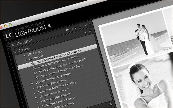 Lightroom 4 Presets – Portrait Black & Whites