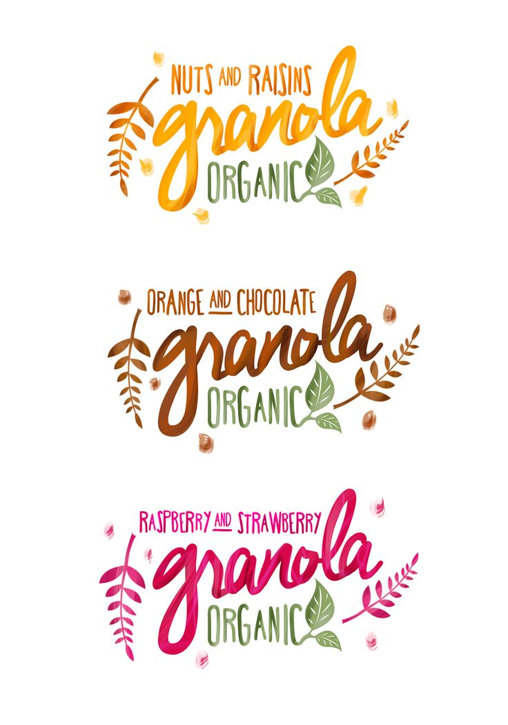 Granola Packaging on Behance