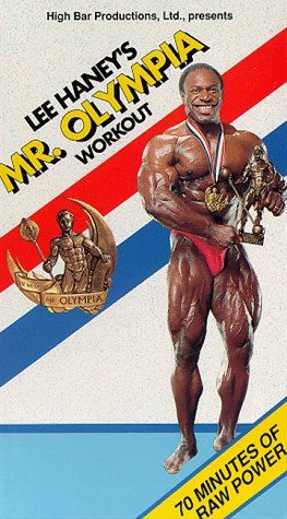 Lee Haney I first workout video 8 time Mr. O